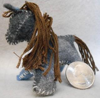 Mini Felt Horses (9)