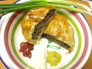 Poor Man's Black & White Truffle Wellington Burger1