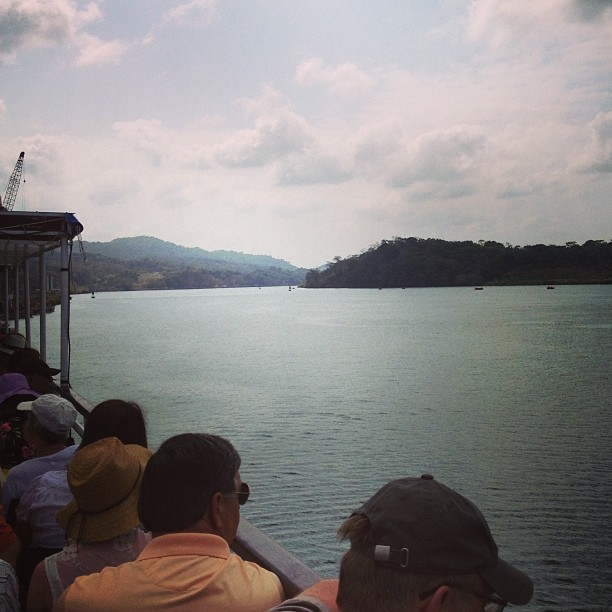 Cruising the #panama #canal