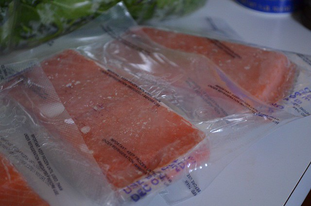 Frozen Salmon Packets | My Halal Kitchen