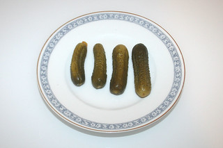 09 - Zutat Gewürzgurken / Ingredient gherkin