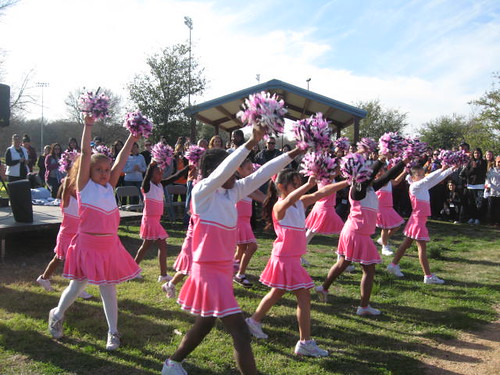 The Project 2013: Dove Springs cheerleaders