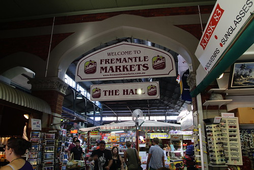 Entering Fremantle Markets
