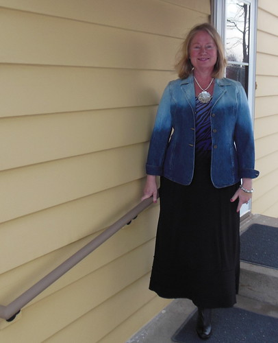 Bleached Jacket by becky b.'s sew & tell
