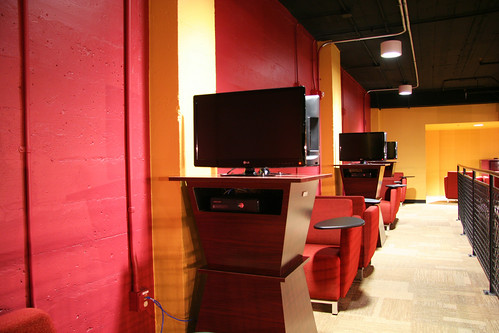 Personal video gaming stations