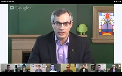 Minister Tony Clement hosted Government of Canada's first Google Hangout