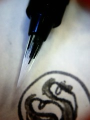 Pentel GFKP draws ink 4