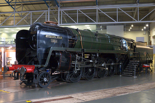 20120926 051 NRM York. BR 9F Class 2-10-0 92220 'EVENING STAR'