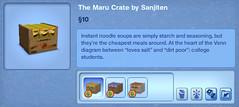 The Maru Crate by Sanjiten