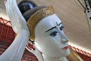Image of Paya Chaukhtatgyi. travel buddha yangon burma myanmar chaukhtatgyipaya