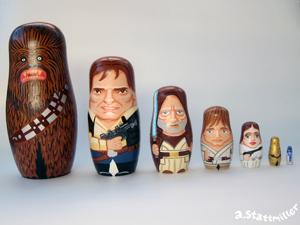 Star Wars Nesting Dolls 02