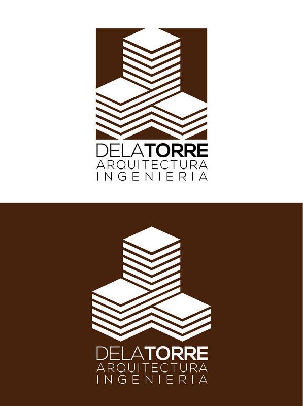 Logotipo despacho arquitectura de la Torre