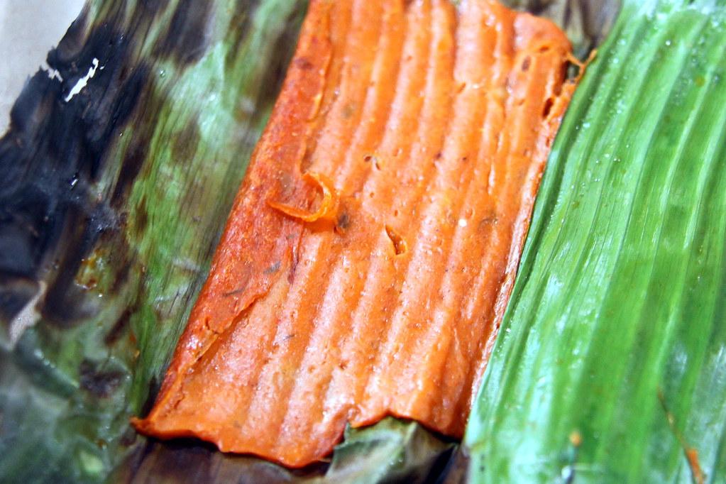 Sri Sujana Muslim Food's piece of mackerel otak otak