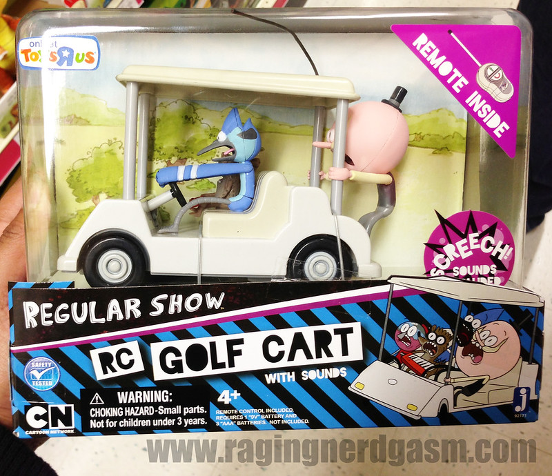 Regular Show RC Golf Cart with Sounds by Jazwares