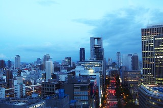 Cityscape, Osaka, Japan