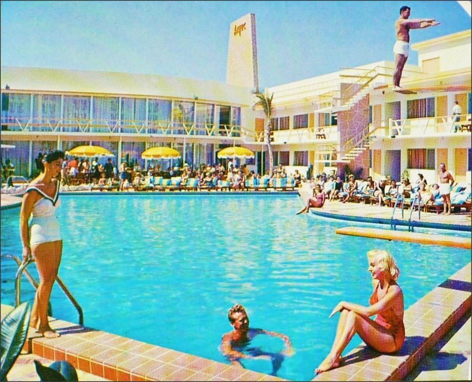 Aztec Motel Miami Beach Florida 1950sunlimited Flickr