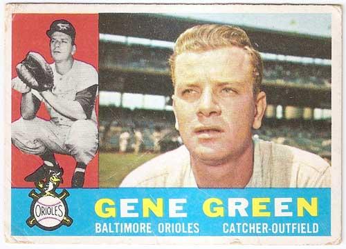 1960 Topps Gene Green