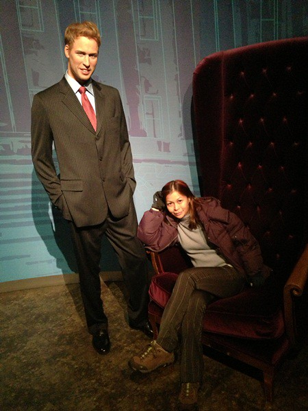 Madame Tussauds in Shanghai - rebecca saw