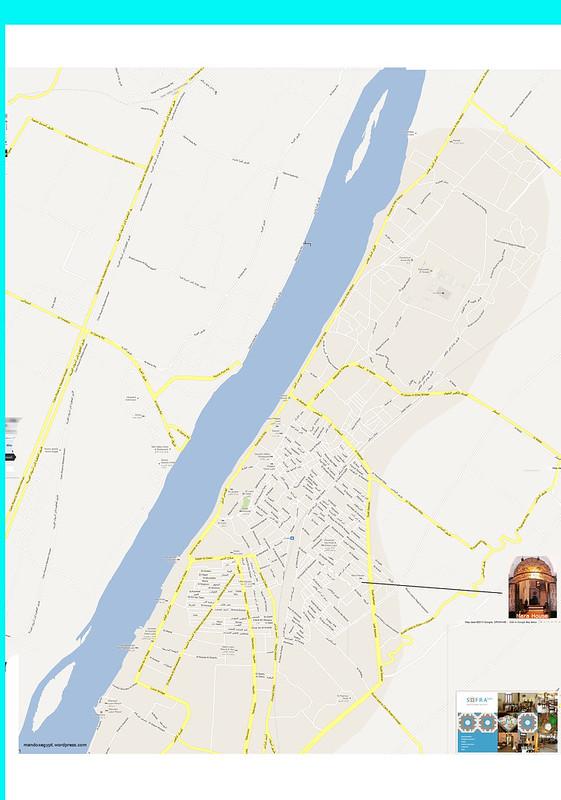 Luxor, Egypt Streetmap