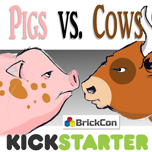 Pigs vs Cows is now LIVE on Kickstarter