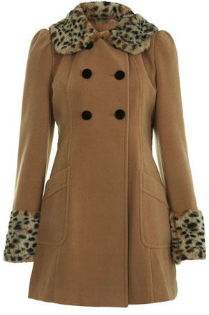 edb8c420afc1 A super-feminine, super-cute take on the duffle, this coat from Tu at  Sainsbury's will look as perfect with a pencil skirt as it will with jeans.