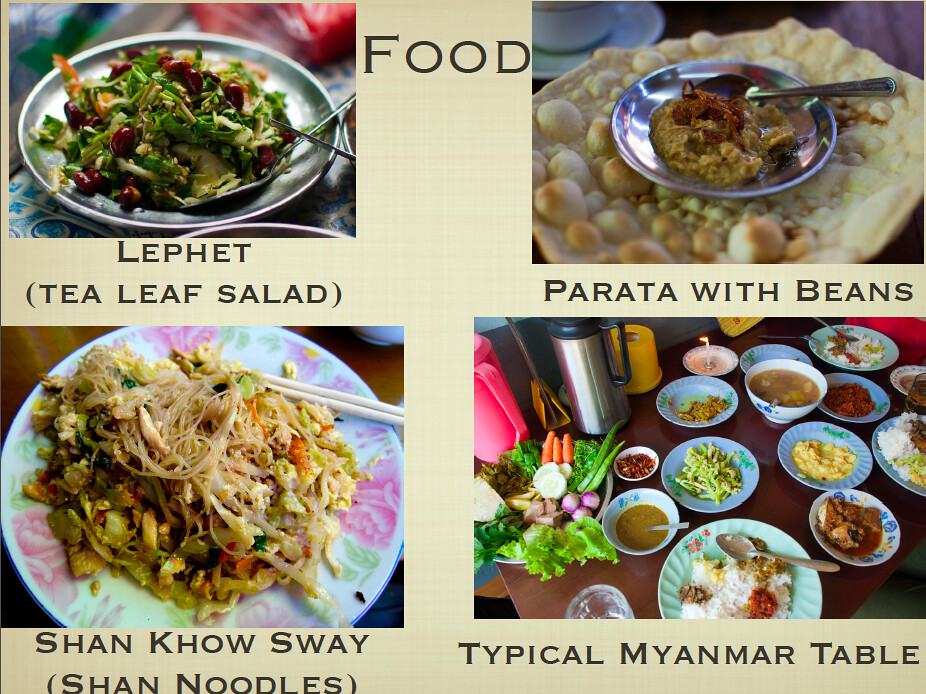 All About Myanmar - food 1