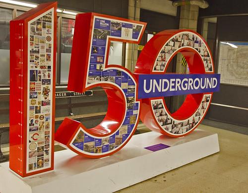 150 Logo at Baker Street