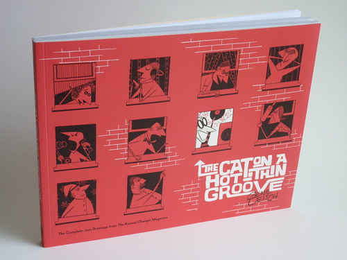 The Cat on a Hot Thin Groove (Softcover Ed.) by Gene Deitch - front cover