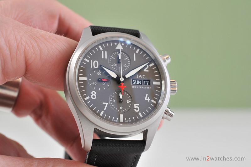IWC, Pilot Chronograph Patrouille Suisse