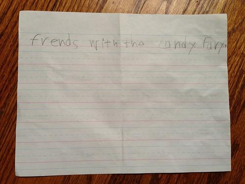E's letter, page 2