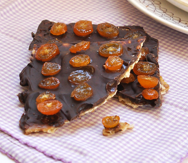 Caramel Chocolate Matzoh Crunch