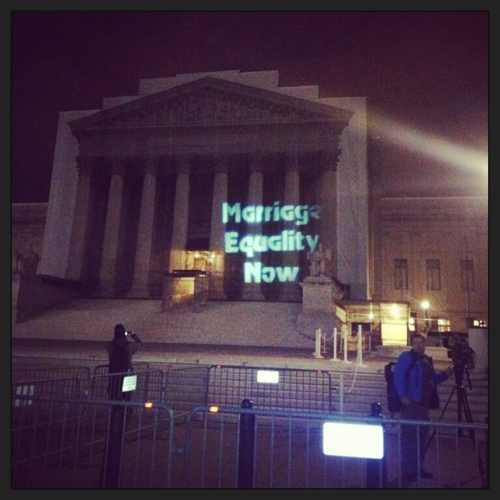 Projection on US Supreme Court 3-26-13