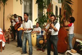 Musicos em Havana Cuba