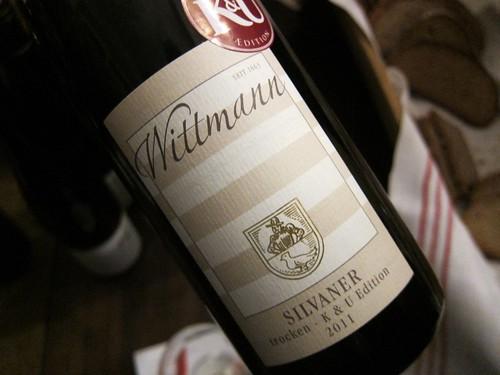 2011 Wittmann Silvaner K und U Edition