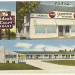 Shenandoah Motor Court and Restaurant, U.S. Route No. 11, 15 miles north of Roanoke, Va., 19 miles south of Natural Bridge, Va.