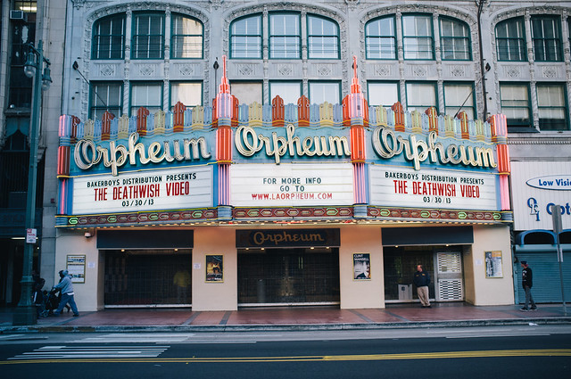 The Deathwish Video Marquee @ Orpheum Theater