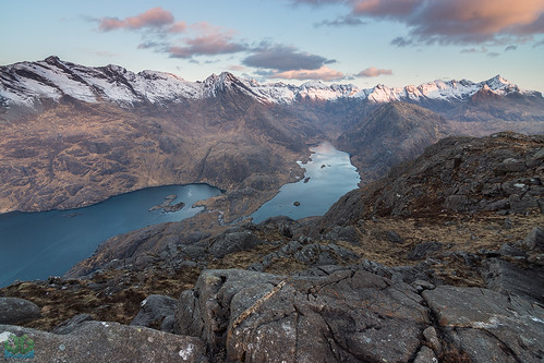 sunrise scotland loch cuillins elgol wildcamp lochcoruisk sgurrnastri