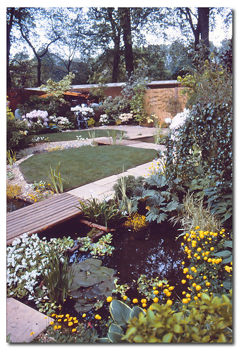 Show Garden.1982 RHS Chelsea Flower Show London