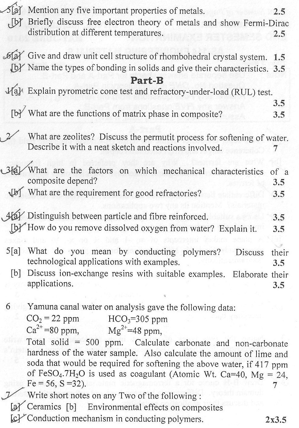 DTU Question Papers 2010 – 2 Semester - End Sem - AS-114