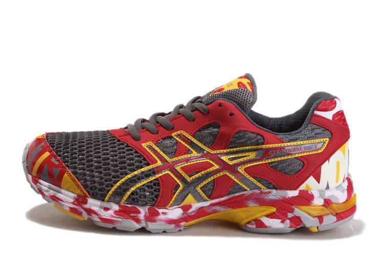 innovative design 61947 d54c2 ... Asics Gel Noosa TRI 7 Mens Running Shoe Red Grey 1   by  asicsgelrunning.com