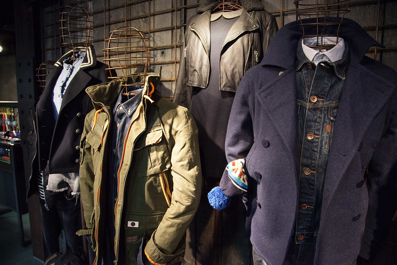 Superdry AW13 Press Day
