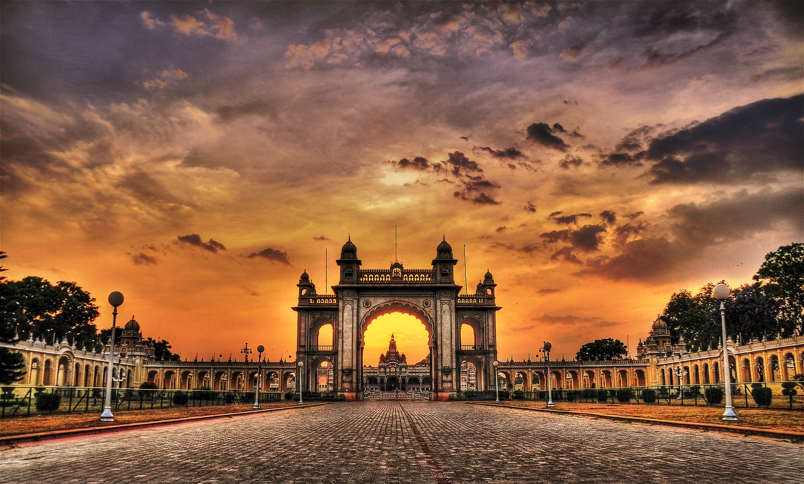 Main Gate of the Mysore Palace
