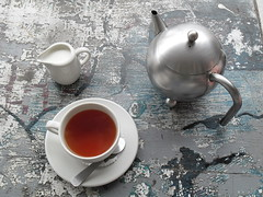 South African rooibos  (Afrikaans for red bush) is caffeine-free, high in anti-oxidants and minerals, and traditionally grown in the Cederberg region, 250 kilometres to the north of Cape Town. Credit: John Fraser/IPS