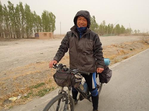 中国人サイクリスト