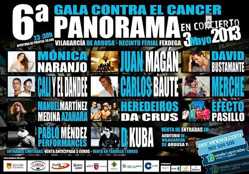 Orquesta Panorama 2013 - VI Gala contra o cancro - cartel (2)