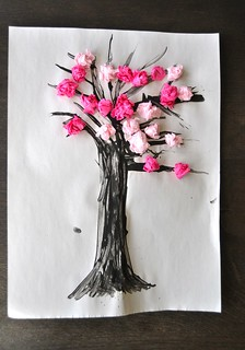 Cherry Blossom Spring Craft