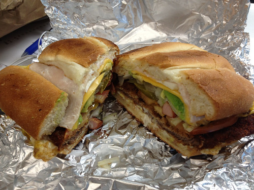 "epic ""cubana"" torta from La Honda"