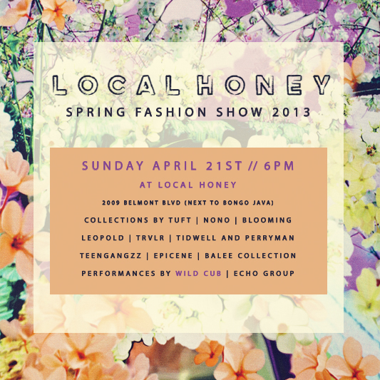 local honey spring fashion show