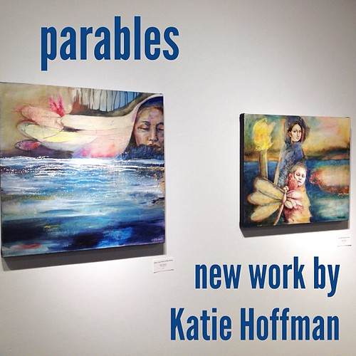 New #paintings by Katie Hoffman now showing at Core Art Space in #Denver