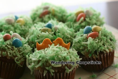 Robin's Egg Nest Easter Cupcakes 7